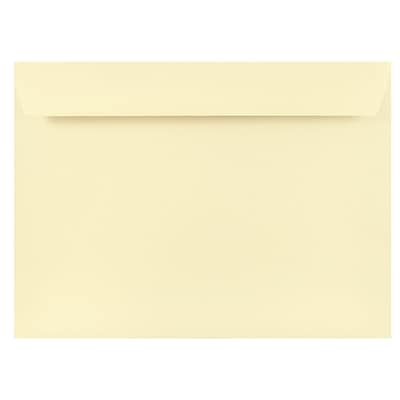 JAM Paper® 9 x 12 Booklet Envelopes, Strathmore Natural White Wove, 500/box