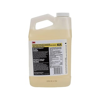 3M™ Disinfectant Cleaner RCT Concentrate, 0.5 Gallon, 4/Case (40A)