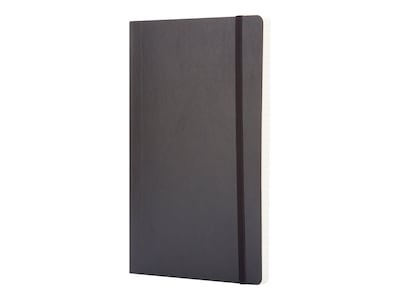"Moleskine Classic Notebook, Large, 5"" x 8.25"", College Ruled, 96 Sheets, Black (707162)"