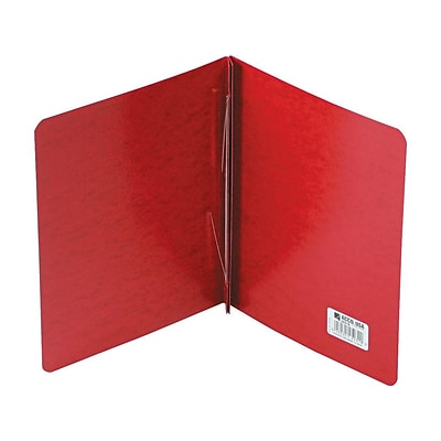 ACCO PRESSTEX 2-Prong Report Cover, Letter, Red (A7025079)