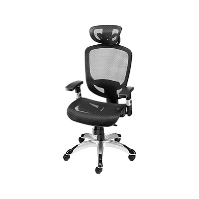 Quill Brand® Hyken Mesh Task Chair, Black (23481-CC)