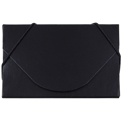 JAM Paper® Business Card Case, Matte Black, Sold Individually