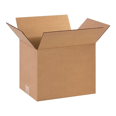 12 x 9 x 12 Shipping Boxes, ECT Rated, Kraft, 25/Bundle (BS120912)