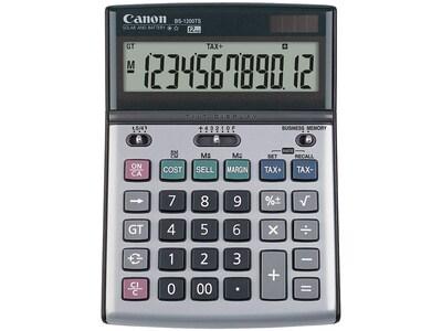 Canon BS 1200TS 8507A010AA 12 Digit Desktop Calculator, Metallic