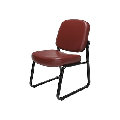 OFM Model 405-VAM Vinyl Reception Sets Chair, Wine (405-VAM-603)