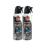 Falcon Dust-Off Air Dusters,  7 oz, 2/Pack (DPSM2)