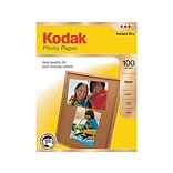 Kodak Glossy Photo Paper, 8.5 x 11, 100/Pack (8209017)