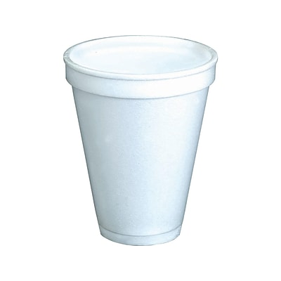 Dart J Cup Hot/Cold Cups, 8 Oz., White, 1000/Carton (8J8)