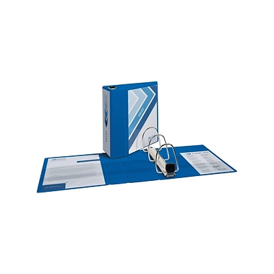 Avery Heavy Duty 5 3-Ring Non-View Binder, Blue (79886)