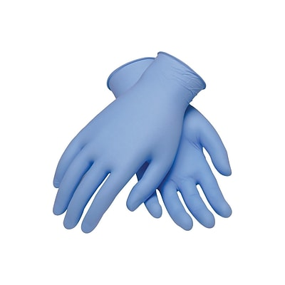 Ambitex N5201 Series Powder Free Blue Nitrile Gloves, XL, 100/Pack, 10 Packs/Carton (NXL5201)