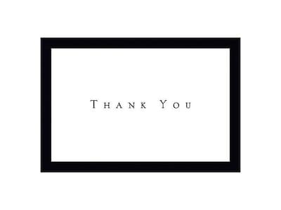 Great Papers Thank You Cards, 50/Pack (1472089)