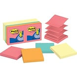 Post-it Standard Notes, 3 x 3 Cape Town, 100 Sheets/Pad, 14 Pads/Pack (R330-14YWM)