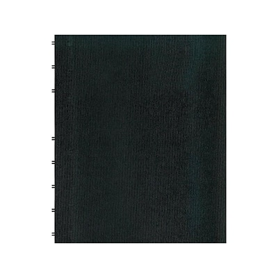 Blueline MiracleBind Professional Notebook, 11 x 9.0625, College Ruled, 75 Sheets, Black (AF11150.81)