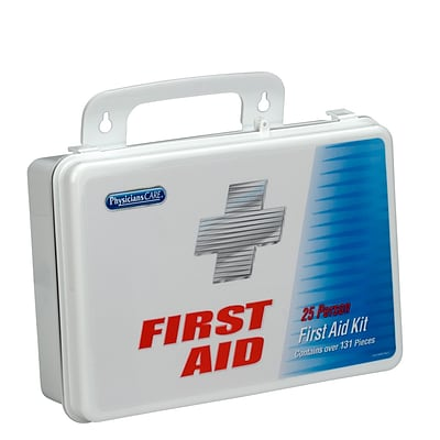 PHYSICIANSCARE 135 pc. First Aid Kit for 25 People (60002)