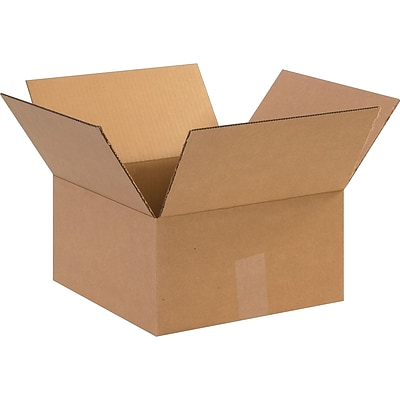 12 x 12 x 6 Shipping Boxes, ECT Rated, Kraft, 25/Bundle (BS121206)