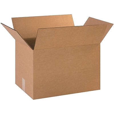 Coastwide Professional™ 18 x 12 x 12, 32 ECT, Shipping Boxes, 25/Bundle (CW57289)