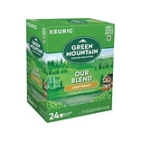 Green Mountain Our Blend Coffee, Keurig® K-Cup® Pods, Light Roast, 24/Box (6570)