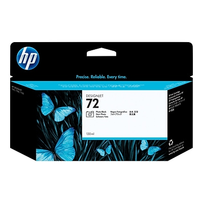 HP 72 Black Ink Cartridge, 130ml (C9370A)