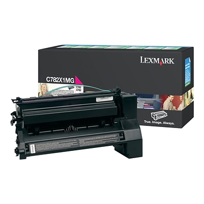 Lexmark Magenta Toner Cartridge, Extra High Yield (C782X1MG)