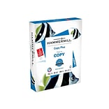 Hammermill Copy Plus 3-Hole Punched 8.5 x 11 Copy Paper, 20 lbs, 92 Brightness, 500/Ream (105031)