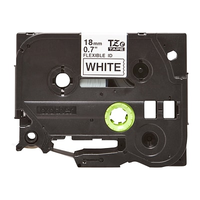Brother TZ-EFX241 Label Maker Tape, 0.7W, Black On White