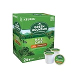 Green Mountain Half-Caff Coffee, Keurig® K-Cup® Pods, Medium Roast, 24/Box (6999)