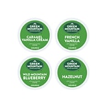 Green Mountain Flavored Variety Pack Coffee, Keurig® K-Cup® Pods, Light Roast, 88/Carton (6502)