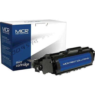 MICR Print Solutions Lexmark T650ML Black MICR Cartridge, Standard (MCR650ML)