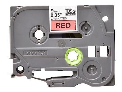 2PK  TZ 325 TZe 325 White on Black Tape Label for Brother P-Touch PT18R Printer