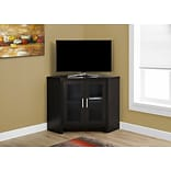 Monarch Corner TV Stand Cappuccino (I 2700)