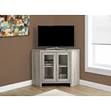 Monarch Corner TV Stand Dark Taupe (I 2701)