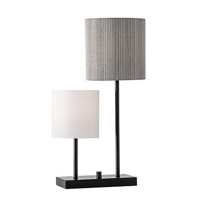 Adesso Table Lamp 26in Black (1530-01)
