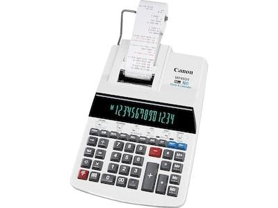 Canon MP49DII 8708B001 14 Digit Desktop Calculator, White
