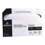 Brighton Professional Toilet Seat Covers, 250 Covers/Pack, 20 Packs/Carton (BPR24775)