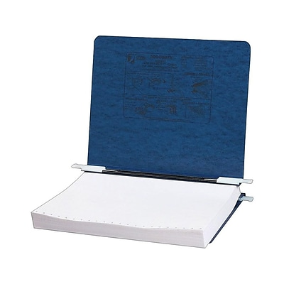 ACCO 6 Hanging Data Binder with PRESSTEX Cover, Dark Blue (54129)