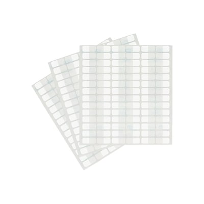 Redi-Tag Tabs, White, 0.44 Wide, 416 Tabs/Pack (31010)