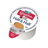 Carnation Half and Half Liquid Creamer, 0.3 Oz., 180/Carton (21501)