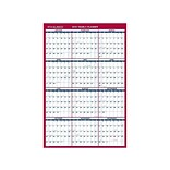 2019 AT-A-GLANCE 36H x 24W Wall Calendar, White (PM2122819)