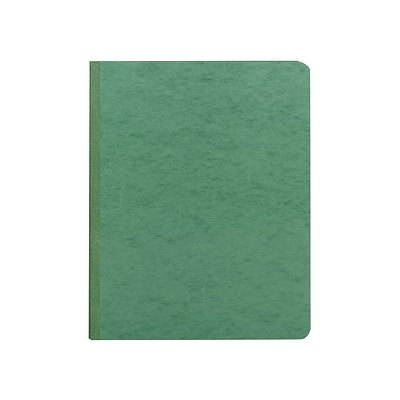 Smead PressGuard Embossed Report Cover, Letter, Green (81452)