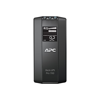 APC Power-Saving Back-UPS Pro 700 UPS, Black (BR700G)