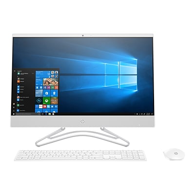 HP 24-f0066 3LA85AA#ABA All-in-One Desktop Computer, Intel i3