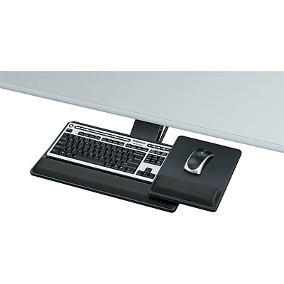 Fellowes Designer Suites Adjustable Keyboard Tray, Black (8017901)