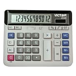 Victor 2140 12-Digit Desktop Calculator, Off White