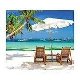 Microthin Wow!Pad Mouse Pad, Beach (78WN06)