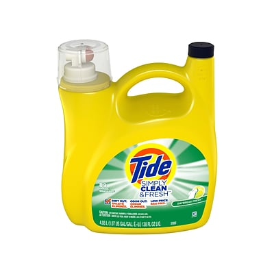 Tide Simply Clean & Fresh Daybreak Fresh Detergent Liquid, 138 oz. (89130)