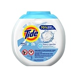 Tide PODS Free and Gentle Detergent Pods, 63 Oz., 72/Pack (89892)