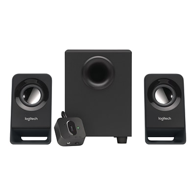 Logitech Z213 Compact 2.1 Wired Speaker System (980-000941)
