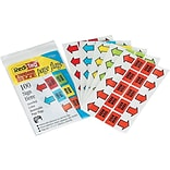 Redi-Tag Sign Here Flags, Assorted Colors, 1.69 Wide, 100/Pack (77830)