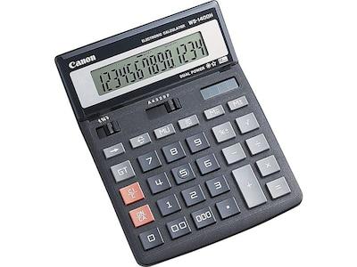 Canon WS 1400H 14 Digit Desktop Calculator, Black