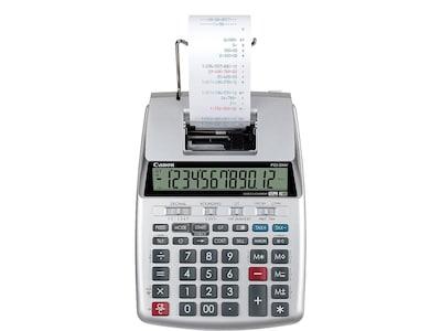 Canon P23 DHV 3 2279C001 12 Digit Desktop Calculator, Gray/Black